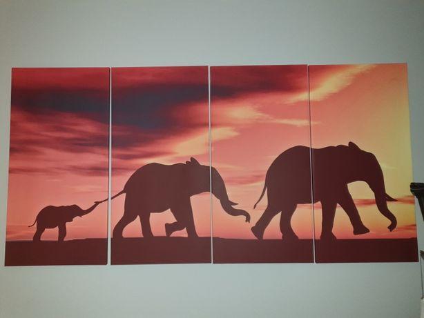 Obraz 4 części 200 x 100