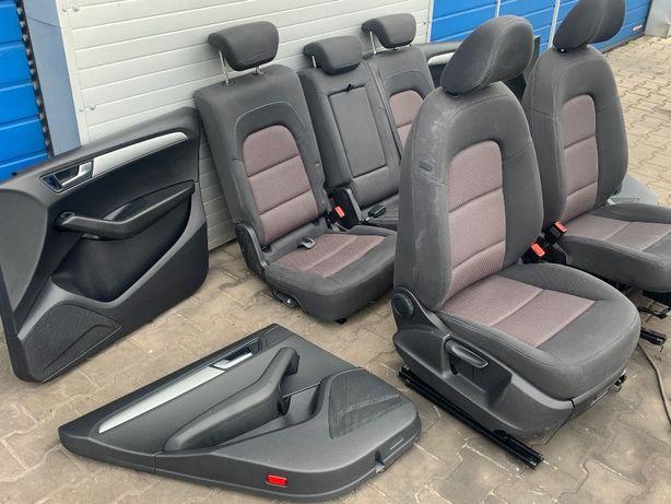 Fotele środek Audi Q5 komplet