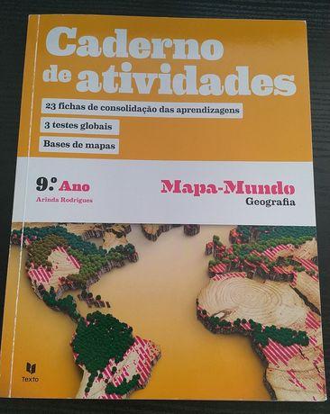 Mapa-Mundo - Geografia - 9º ano
