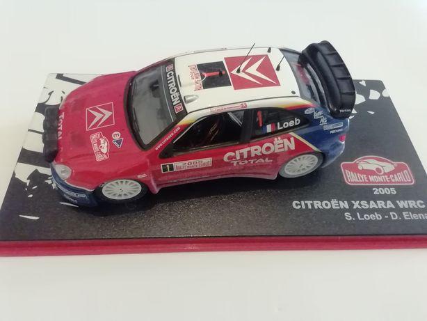 1/43 Citroën Xsara WRC - S. Loeb/D. Elena | 2005 (Ixo/Altaya)