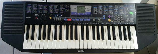 Keyboard Yamaha z Ekranem wielofunkcyjnym, duża klawiatura