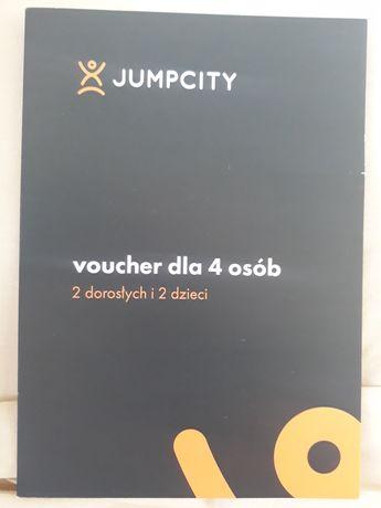 VOUCHER dla 4 osób na JUMPCITY Katowice