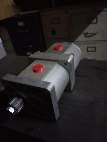 Bomba hidráulica dupla