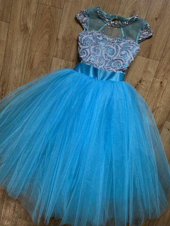 Шикарное платье 2в1.