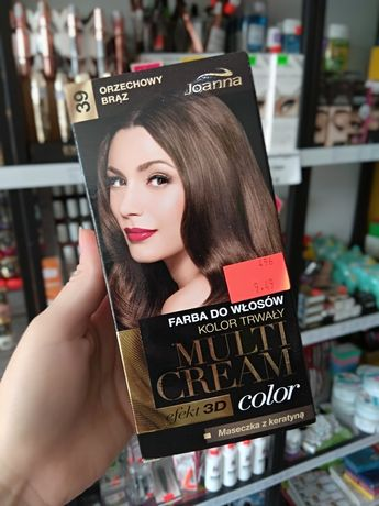 Farba do włosów brąz Joanna MultiCream