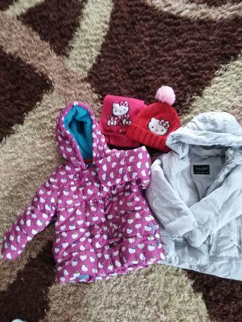 Zestaw kurtek dla dziewczynki