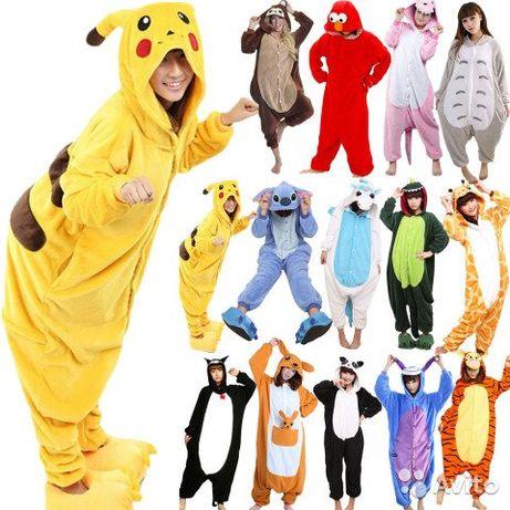 Кигуруми Оригинал огромный выбор в наличии! пижама костюм на подарок