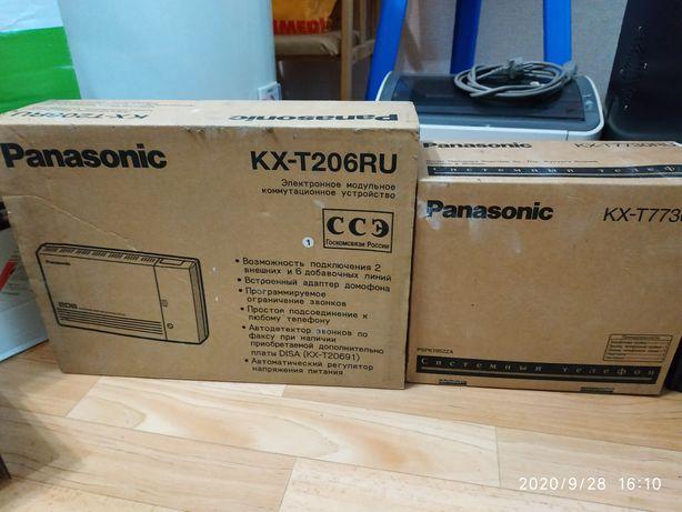 Мини- АТС Panasonic KX T 206 RU