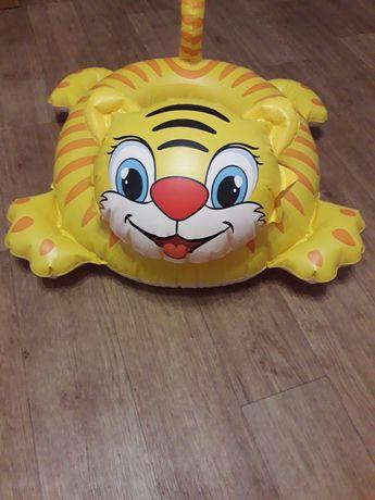 Надувной круг-тигр для детей