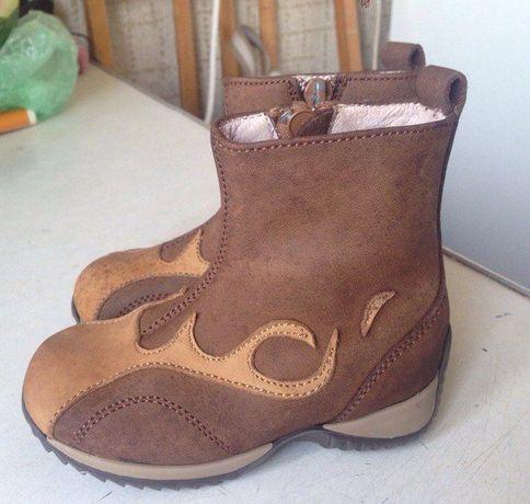 Детские кожаные ботинки, сапожки