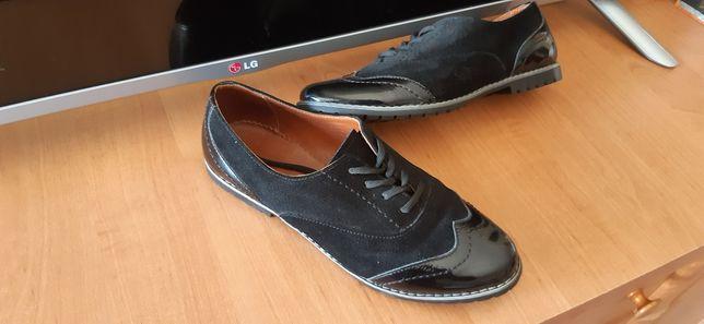Кожа туфли туфлі 38 р.
