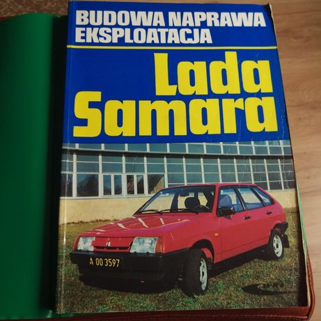 """Lada Samara Budowa Naprawa Eksploatacja WKŁ"" na Opel Astra H"