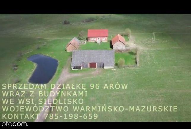 Sprzedam dom z budynkami oraz ziemią dobra cena!