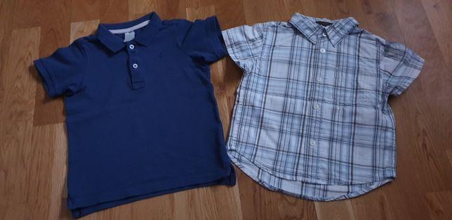 Bluzeczki marki H&M rozmiar 92