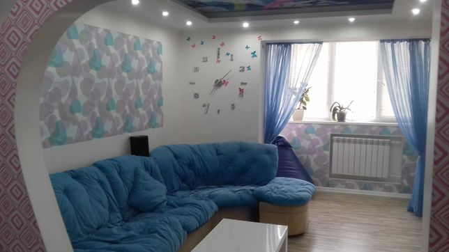 Аренда 3-х комнатной квартиры с евроремонтом на Сталинграда