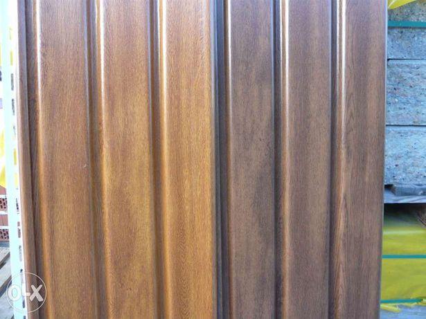 podsufitka asko, panele pcv kolory drewnopodobne złoty dąb, orzech,