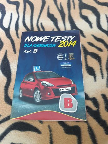Książka na prawo Jazdy Kat B