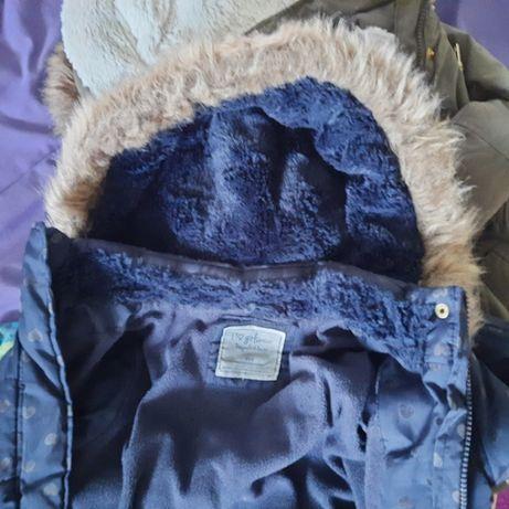 Деми курточка парка 6 - 7 лет