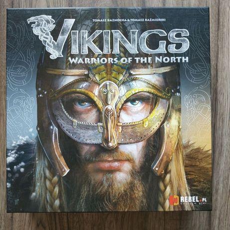 Gra Planszowa Vikings Warriors of the North wikingowie karciana Rebel