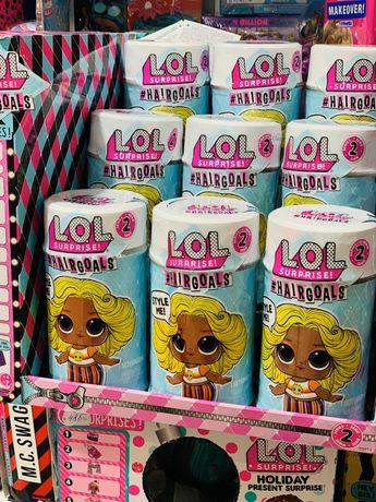 Кукла Лол Сюрприз с настоящими волосами LOL Surprise Hairgoals Series
