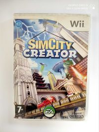 SimCity Creator nintendo Wii