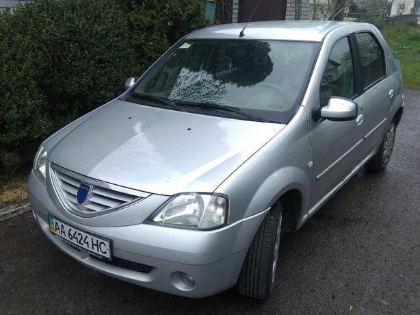 Dacia Logan, 2007, 1.6 бензин