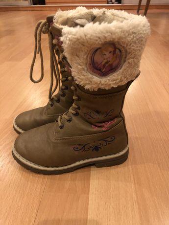 Демисезонные сапоги ботинки Холодное сердце Disney Дисней