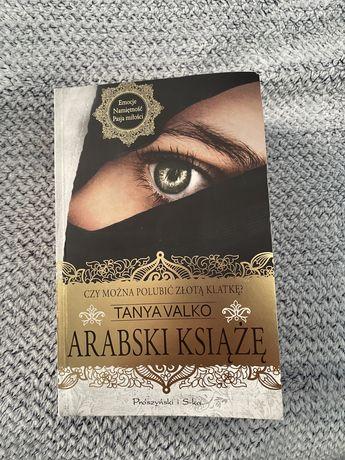 Tanya Valko Arabski Książe książka w bardzo dobrym stanie