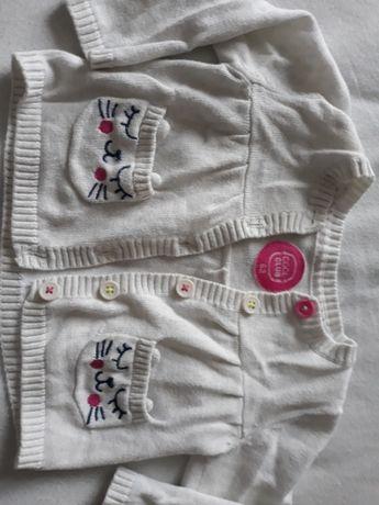 Getry sweterek bluzka półśpiochy dres rozm 74 i opaska