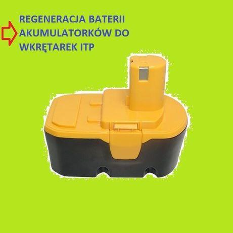 Wkrętarki regeneracja baterii elektronarzędzia, odkurzacze itp