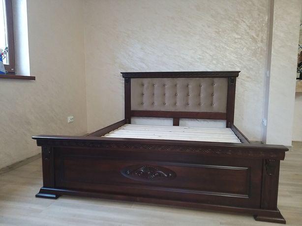 Ліжко деревяне,кровать деревянная.