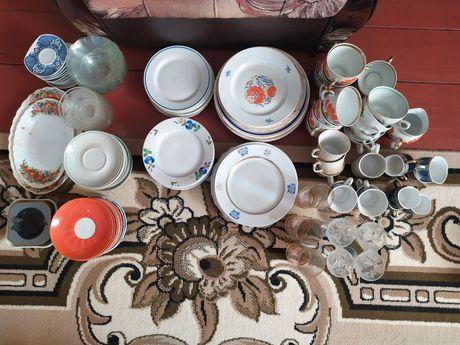 Посуд оптом (тарілки, блюдечка, чашки)