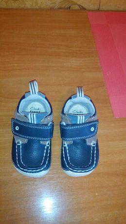 Детские туфли-макасины