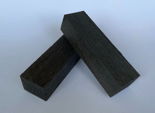 Мореный дуб, заготовки / бруски для рукояти ножей / дерево для ножа