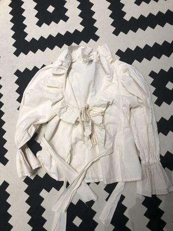 Блуза Рюши Волан