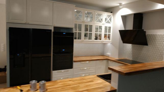Profesjonalny montaż mebli kuchennych trudne tematy taniej niż w IKEA