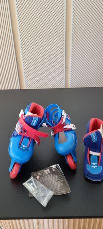 Rolki decathlon kid blue regulowane 26-28