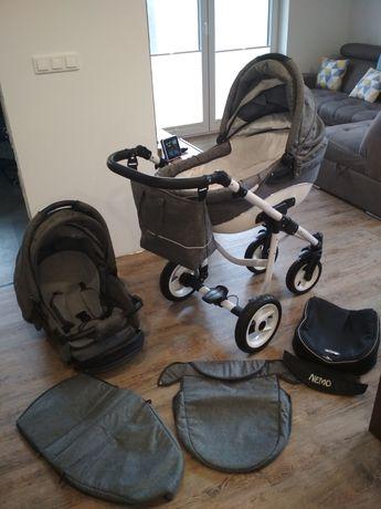 Wózek dziecięcy Adbor Nemo 2w1 (gondola+spacerówka)
