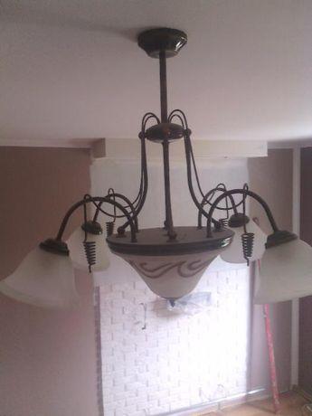 Żyrandol podwieszany lampa