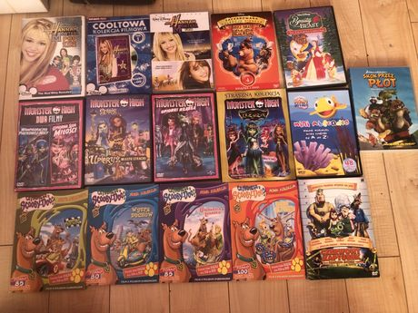 Płyty DVD dla dzieci