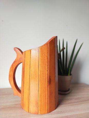 Donica, drewniany dzban
