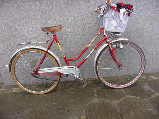 """Rower damka Niemiecka ładna RETRO """" FISHER"""" koła 26"""" wzrost od 160cm"""