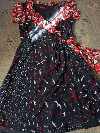 шикарное платье из качественного шифона