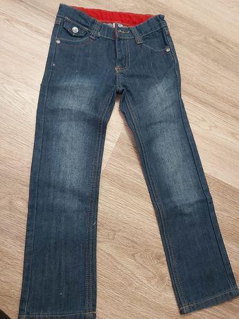 Nowe spodnie jeansowe dżinsowe 110 chłopięce