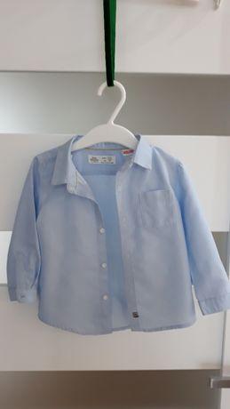 Koszula zara baby boy r. 80 (9-12 m)
