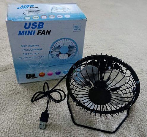 USB Mini Fan Wiatrak Wentylator NOWY
