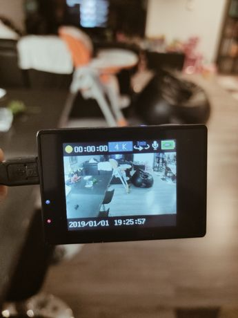 Action cam ultra HD mais cartão 16 GB