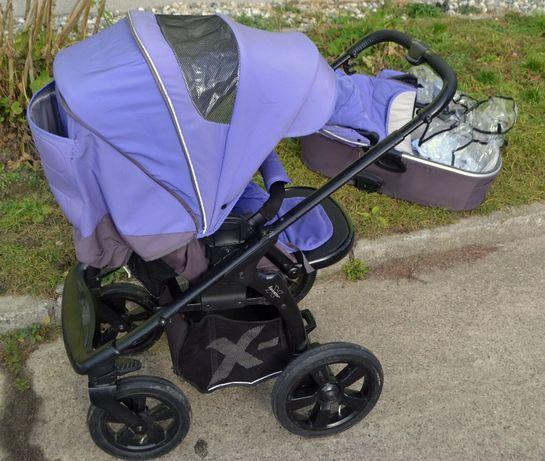 Wózek 2w1 X-LANDER X-MOVE Siedzisko przód/tył Parasolka Śpiwór