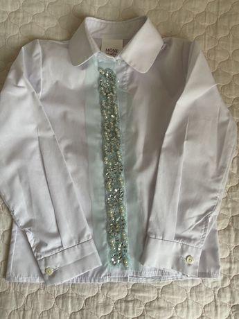 Блузка со стразами