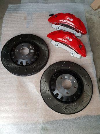 Hamulce przednie nowe komplet RS4 RS5 8W S4 S5 8W A4 A5 8W Q5 SQ5 Q7